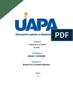 UNIDAD5 Estudio de la Literatuta Española