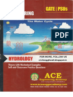 Hydrology - Civil Engineering - Ace Engineering Academy Study Material - 2014 Edition - Free Download PDF