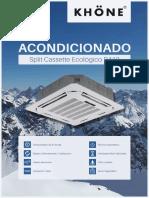 EQUIPO SPLIT CASSETTE ECOLOGICO R410 (baja resolución)