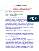 The Fatima Visions