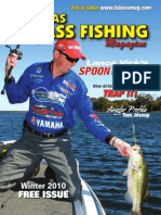 Texas Bass Fishing Mag Winter 2010