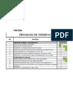 PROGRAMA DE OBRA TERMINACION TALLERES