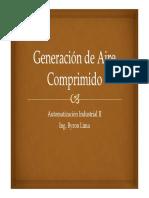2.Generación y dispositivos utilizados aire comprimido