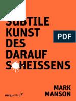 Die subtile Kunst des darauf Scheißens by Mark Manson (z-lib.org).pdf