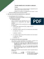 FUNDAMENTOS DEL DISEÑO DE CONCRETO ARMADO