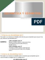 CRITERIO DE DIVISIBILIDAD