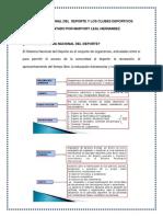 SISTEMA NACIONAL DEL  DEPORTE Y LOS CLUBES DEPORTIVOS