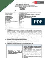 SILABUS- CAJA DE CAMBIOS