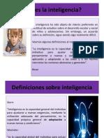 Inteligencia Definiciones, teorías y tipos