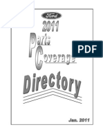 2011 Parts Coverage Directory