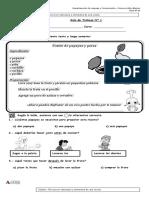 Clase N° 1- Reconocer estructura y elementos de una receta ( Letra P)