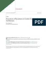 Evocations of Byzantium in Zenitist Avant-Garde Architecture