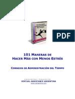 101ConsejosDeAdministracionDelTiempo
