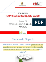 3. Desarrollo de la solución de negocio