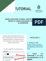 TUTORIAL para os alunos acessarem o email e plataforma.pdf