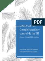 Actividad unidad VI Contabilización y control de los GI