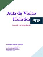 APOSTILA HOLISTICA VIOLAO INICIANTE - Deh Mussulini