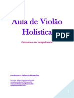 APOSTILA HOLISTICA VIOLAO INTERMEDIARIO - Deh Mussulini