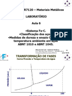 MR6120 NR7120 - aula ML06 - 093 a 109 Sistema Fe-C