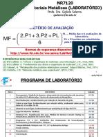 MR6120 NR7120 - aula ML01 - 001 a 013 Encruamento