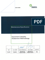 NA-OTP-PMT-000-OR-STA-00001 Equipment Criticality Assessment Methodology
