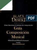 Guía de composición musical Black Desert