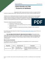 CyberOps Skills Assessment Spanish