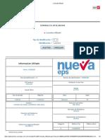 Consulta Afiliado FAUNIER GUERRERO