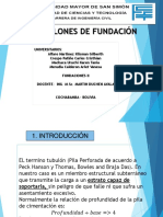 GRUPO N°9 - TUBULONES DE FUNDACION