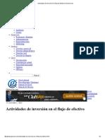 FLUJO EFECTIVO-ACTIVIDADES DE INVERSION-FINANCIACION