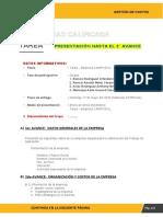 Avance 02-Procesos, productos y costos de la empresa