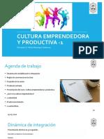 Presentación Cultura Emprendedora[1]