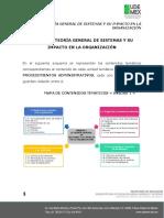 UNIDAD 1 TEORÍA GENERAL DE SISTEMAS Y SU IMPACTO EN LA ORGANIZACIÓN
