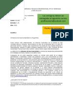 Clase 3 - Crímenes de lesa humanidad en Argentina