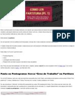 Como Ler Partitura (Pt. 1)_ Pauta, Altura das Notas e as Notas na Guitarra » Music Clan