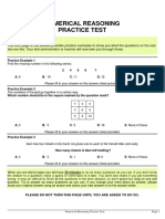 numerical reasoning practice