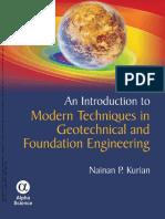 0. portada Modern Geotechnical and Foundation