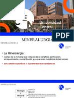 Mineralurgia 1