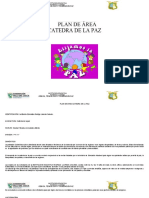 MALLA CURRICULAR CATEDRA DE LA PAZ 2020