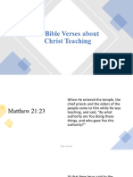 47 Bible Verses About Christ Teaching