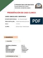 CASO CLINICO GINECOLOGIA