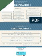 DISCIPULADO 1  DIOS  CLASE #1