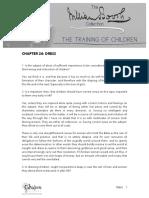 The Training of Children C24