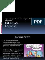 FALACIAS LÓGICAS, NORMALES Y NO NORMALES