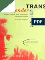 [Leslie Feinberg] Transgender Warriors