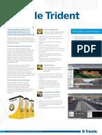 Techsheet - Trimble Trident Software - Spanish - Screen