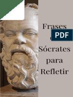 Frases de Sócrates para refletir