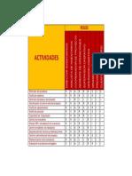Matriz RACI - Proyecto DHL