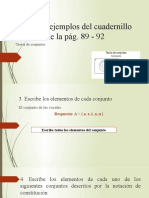 Algunos ejemplos del cuadernillo de la pág