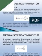 5_ENERGIA ESPECIFICA Y MOMENTUM